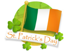 St. Patrick's Day – VO Update